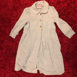 Juicy Couture Sweater Trench Coat